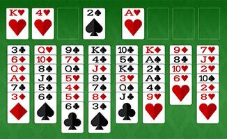 Kartenspiel Freecell